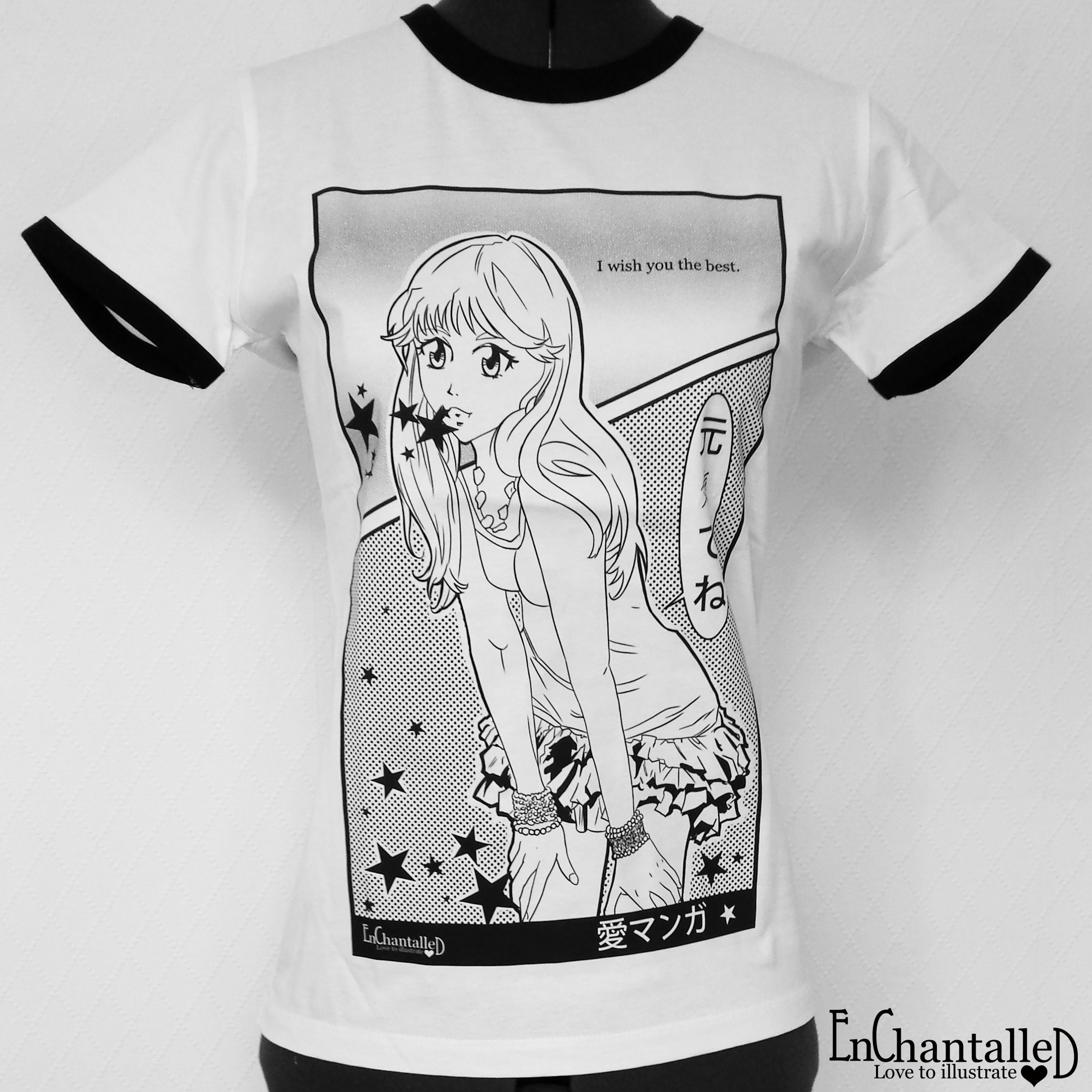 anime t-shirt EnChantalled manga