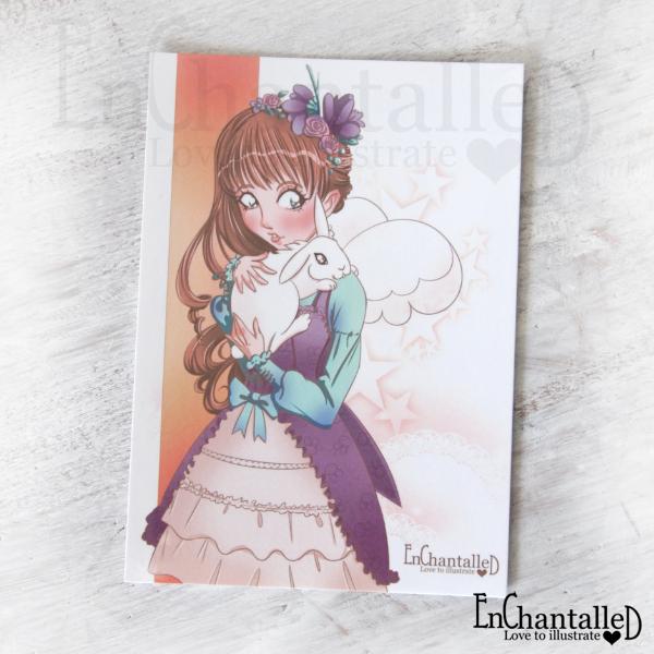 anime manga ansichtkaart