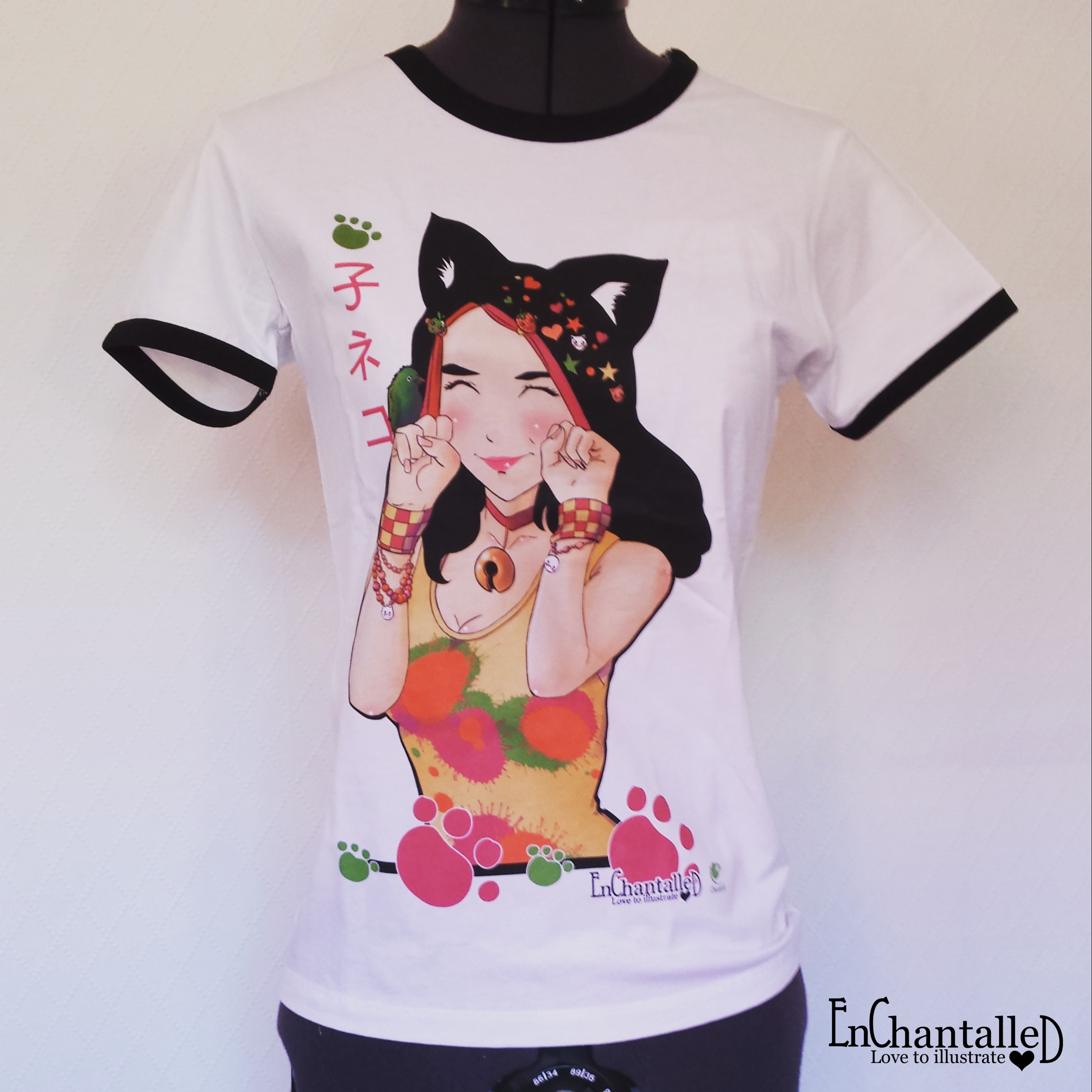 anime t-shirt EnChantalled
