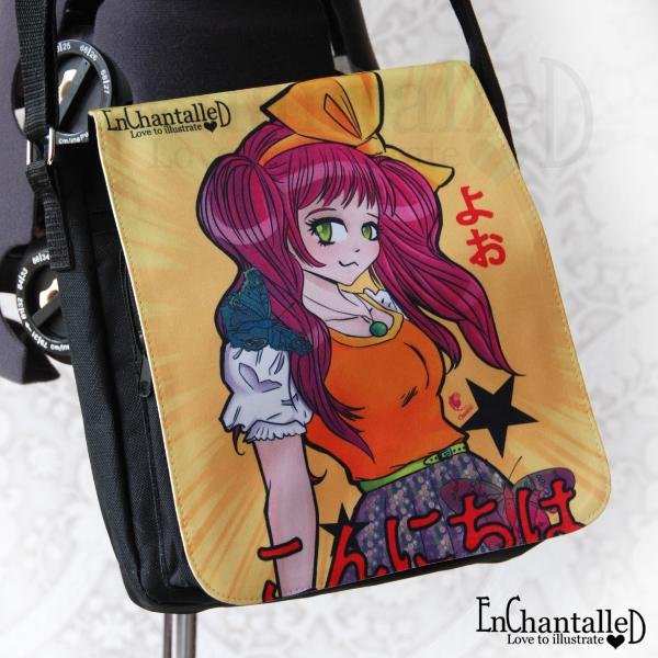 manga anime tas Konnichiwa