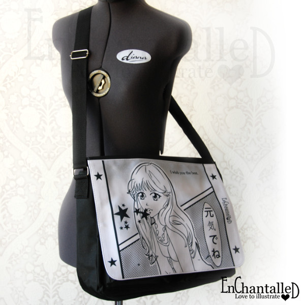 manga schoudertas tas schooltas EnChantalled