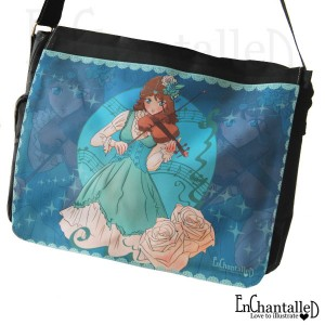 manga anime tas tassen schoudertas schooltas muziek viool EnChantalled