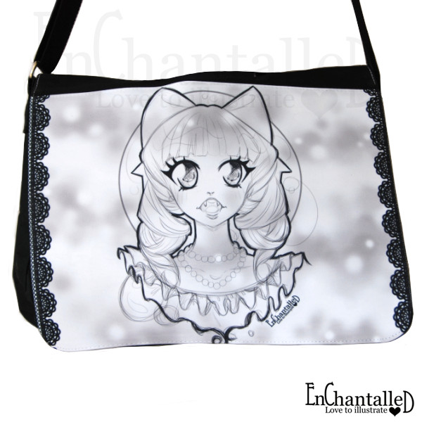 manga anime schoudertas tas schooltas EnChantalled