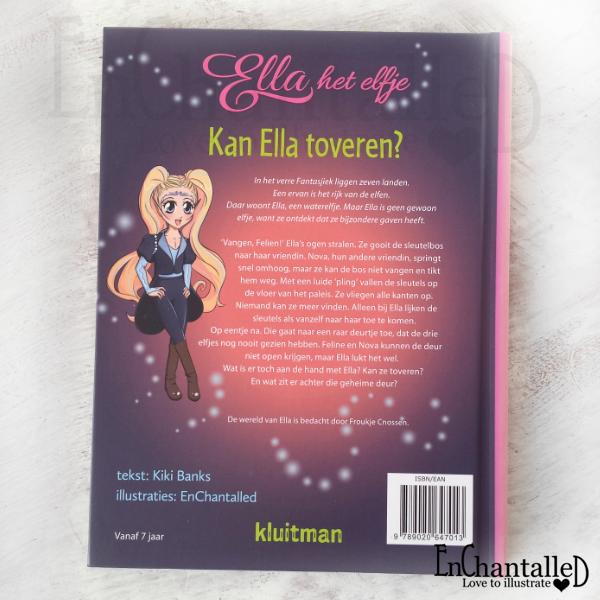 Ella het elfje Kan Ella toveren kinderboek kinderboeken EnChantalled Kleutman Kiki Banks
