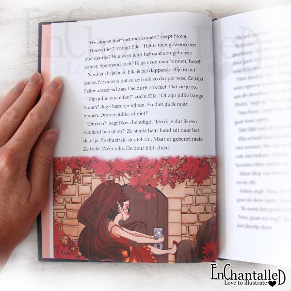 Ella het elfje kan ella toveren preview nova kinderboek EnChantalled Fantasjiek Kluitman