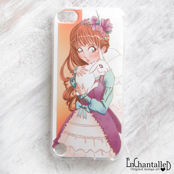 iPod Touch 5g 6 hoesjes_konijn_Manga meisje_anime_manga_lolita_EnChantalled