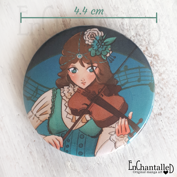 button, viool, violist, blauw, manga, anime, buttons, enchantalled