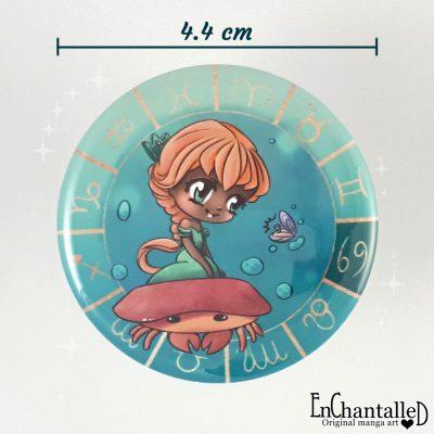 button chibi zodiak kreeft