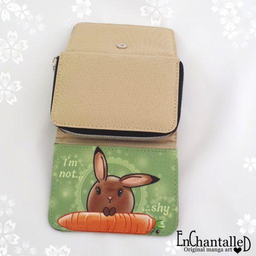 portemonnee mama rond konijn kawaii
