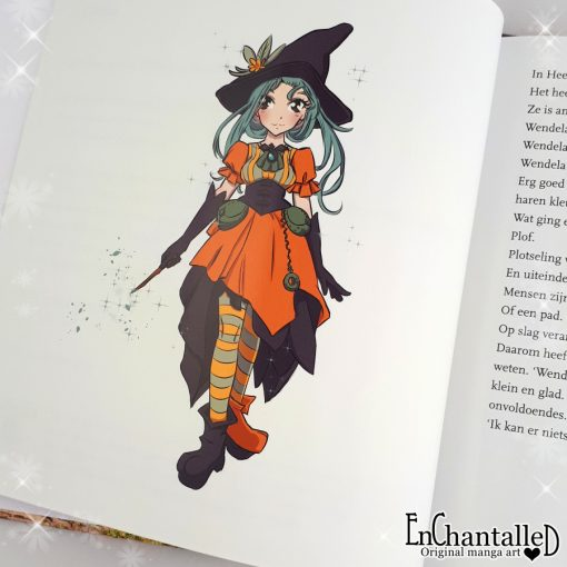 illustratie hekje wendela kinderboek illustrator EnChantalled