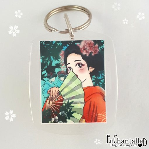 Sleutelhanger maiko leerling japanse kunst Geisha geiko geiki