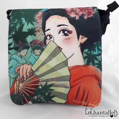 Anime tas tassen maiko Geisha in opleding Japanse kunst Japan