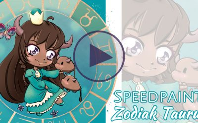 Manga Speedpaint Party: Chibi Zodiak Prinses Stier