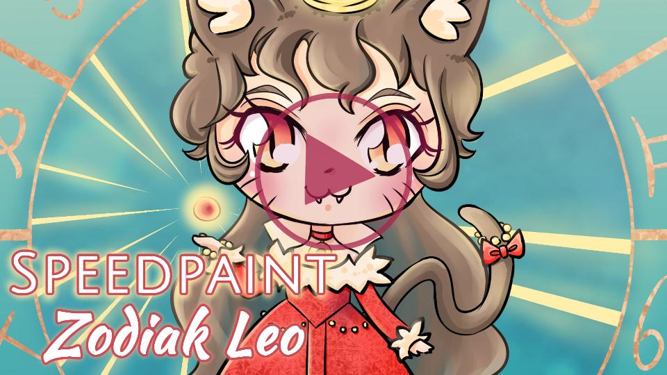 Manga Speedpaint Party: Chibi Zodiak Prinses Leeuw