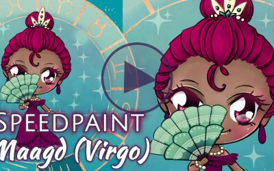 Manga Speedpaint Party: Chibi Zodiak Prinses Maagd