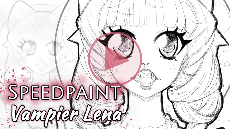 Manga Speedpaint Party: Vampier Lena