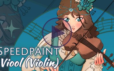 Manga Speedpaint Party: Viool