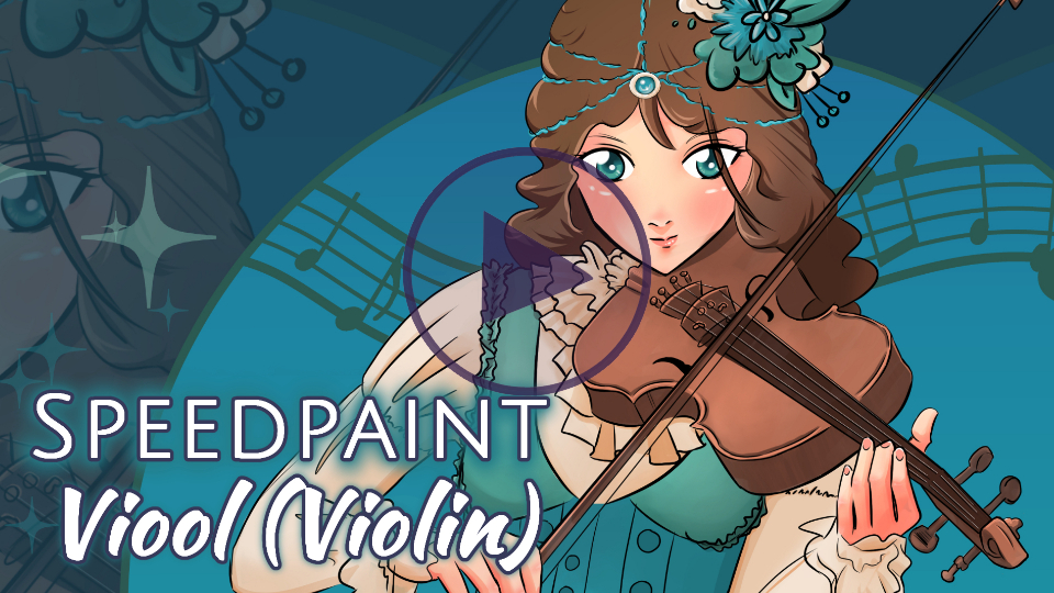 Manga Speedpaint Party: Viool