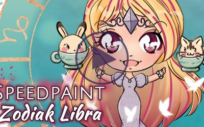 Manga Speedpaint Party: Chibi Zodiak Prinses Weegschaal