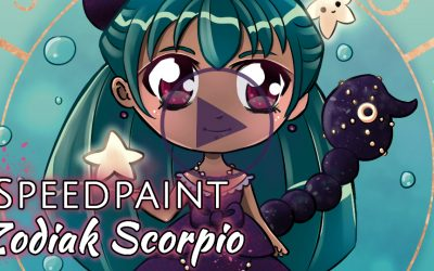 Manga Speedpaint Party: Chibi Zodiak Prinses Schorpioen