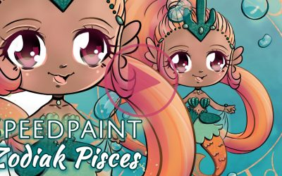 Manga Speedpaint party: Chibi Zodiak Prinses Vissen