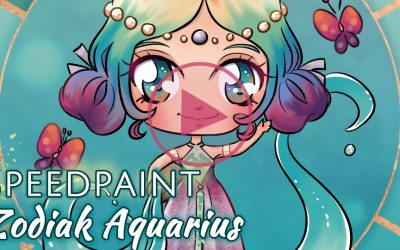 Manga Speedpaint party: Chibi Zodiak Prinses Waterman
